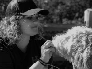 A life of dogs podcast host Christine Anderson
