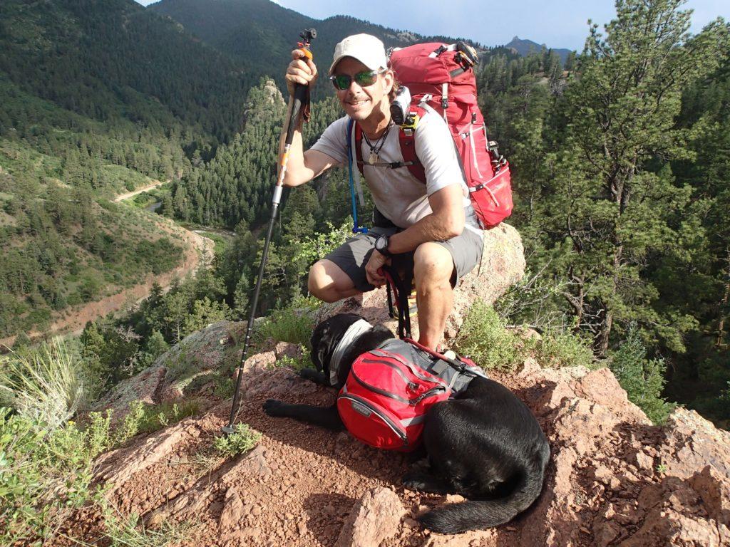 trevor thomas hiking