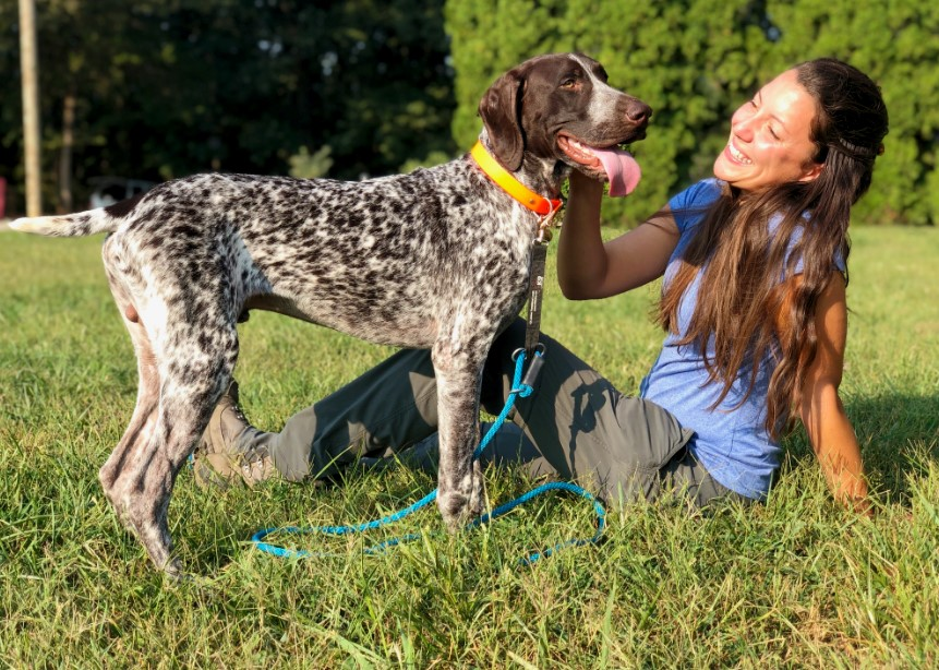 darwin bee detection dog and jacqueline staab